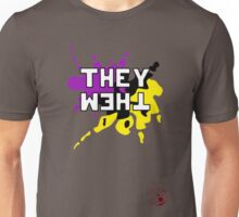 They Them - NonBinary Colors Unisex T-Shirt