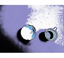 Cup and ashtray Photographic Print
