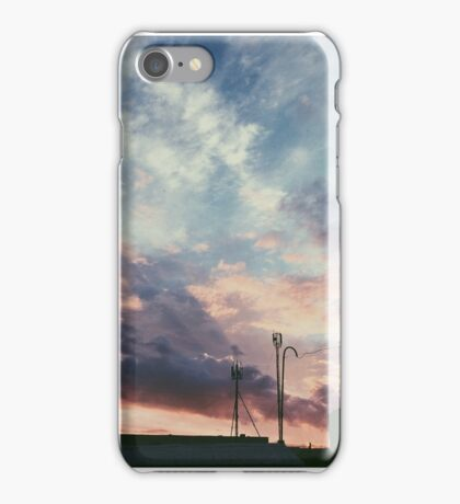 iPhone case with sky and clouds iPhone Case/Skin