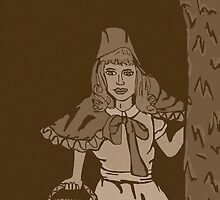 Little red riding hood vintage by Logan81
