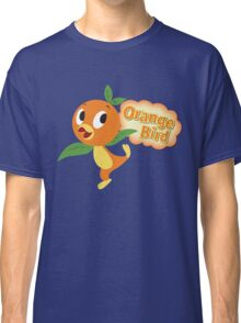 Little Orange Bird stripes Classic T-Shirt