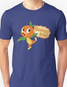 Little Orange Bird stripes Unisex T-Shirt