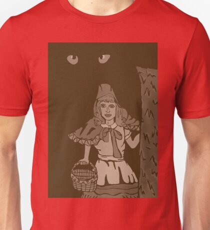 Little red riding hood vintage Unisex T-Shirt
