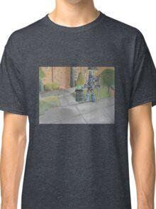 Landscape with Robot 2 Classic T-Shirt