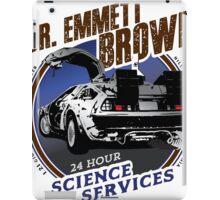Dr Emmet Brown Science Services iPad Case/Skin