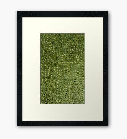 Wally Gator Framed Print