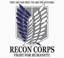 Recon Corps - Attack On Titan Baby Tee