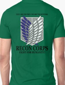 Recon Corps - Attack On Titan T-Shirt