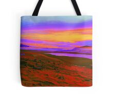 Psychedelic Iceland Tote Bag