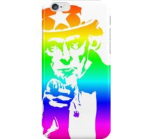Rainbow Uncle Sam iPhone Case/Skin