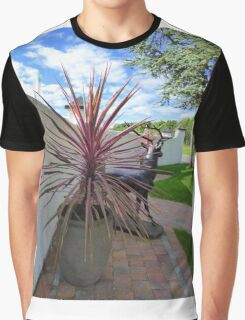 The Stag And The Cordyline Graphic T-Shirt