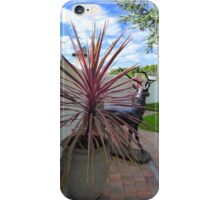 The Stag And The Cordyline iPhone Case/Skin