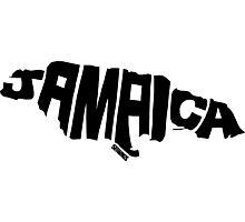 Jamaica Black Photographic Print