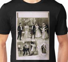 Performing Arts Posters Vignettes of ballroom scene stabbing attempt and a couple 1994 Unisex T-Shirt
