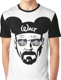 Walter White Lit-up Castle Graphic T-Shirt