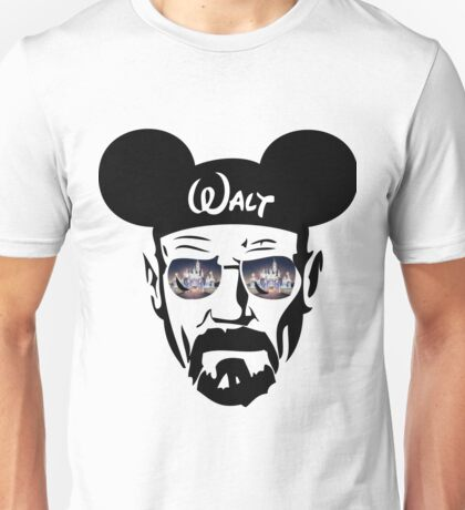 Walter White Lit-up Castle Unisex T-Shirt