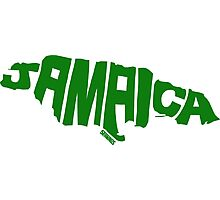 Jamaica Green Photographic Print