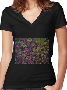 Primal Blend Women's Fitted V-Neck T-Shirt