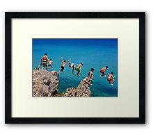 Summer attack - Kos island Framed Print