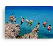 Summer attack - Kos island Canvas Print