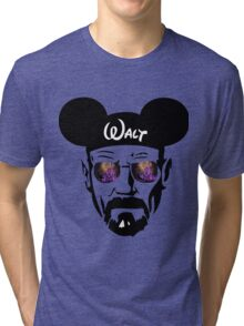 Walter White Night Castle Tri-blend T-Shirt