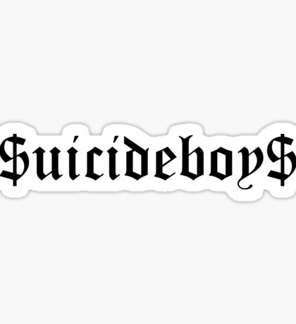 $UICIDEBOY$ Sticker Sticker