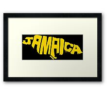 Jamaica Yellow Framed Print