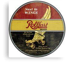 Rollfast Vintage Roller skates Metal Print