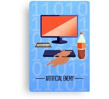 Artificial Enemy Canvas Print