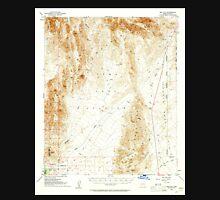 USGS TOPO Map Arizona AZ Red Hill 314952 1954 62500 Unisex T-Shirt