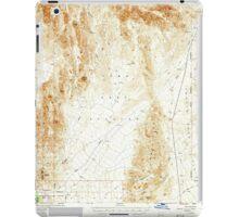 USGS TOPO Map Arizona AZ Red Hill 314952 1954 62500 iPad Case/Skin