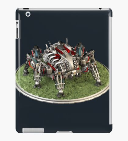 Futuristic Mobile Command Center iPad Case/Skin