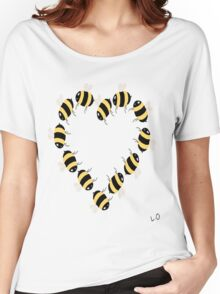Bee hearty! Women's Relaxed Fit T-Shirt