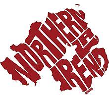 Northern Ireland Red Photographic Print