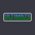 Ultimate Play The Game Pixel Art Logo by Buleste