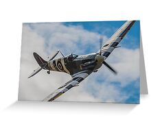 Spitfire AB910 Greeting Card