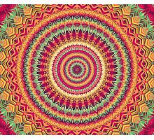 Mandala 101 Photographic Print