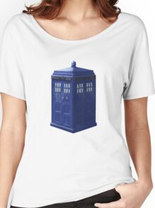 Tardis with Light Women's Relaxed Fit T-Shirt