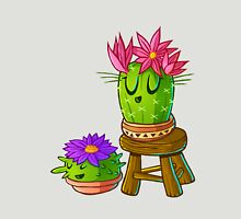 Cute cactus on stool Unisex T-Shirt