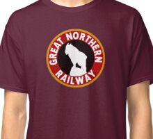 Great Northern railway sign Classic T-Shirt