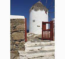 Windmill, Island Myconos, Greece Unisex T-Shirt