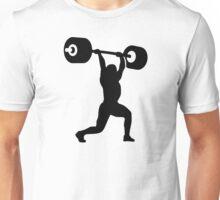 Weightlifting weightlifter Unisex T-Shirt
