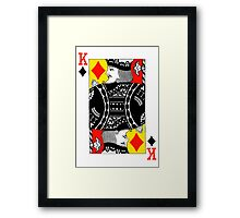 KING OF DIAMONDS-2 Framed Print