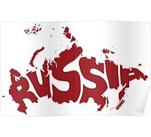 Russia Red Poster