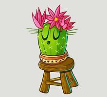 Cute cacti on stool 2 Unisex T-Shirt
