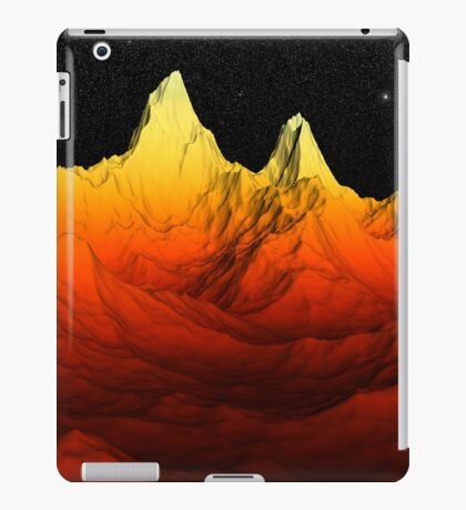 Sci Fi Mountains Landscape iPad Case/Skin