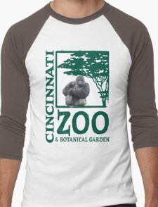 Cincinnati Zoo Men's Baseball ¾ T-Shirt