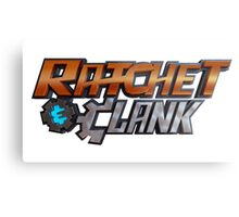 RATCHET & CLANK 3D Metal Print