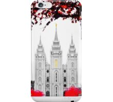 Christmas at Temple Square iPhone Case/Skin