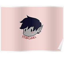 MARSHALL LEE (Adventure Time) cute fanart Poster